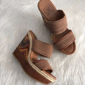 Lucky Brand Candy Wedges | Size 7